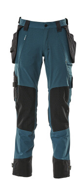 17031-311-010 Pantalones con bolsillos para rodilleras y bolsillos tipo funda - azul marino oscuro