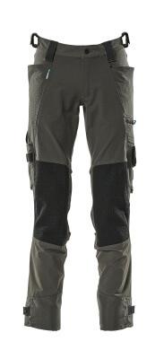 17079-311-09 Pantalones con bolsillos para rodilleras - negro