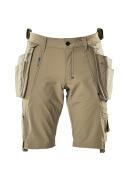17149-311-55 Pantalones cortos con bolsillos tipo funda - caqui claro