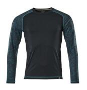 17281-944-010 Camiseta, manga larga - azul marino oscuro