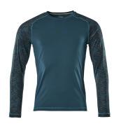 17281-944-44 Camiseta, manga larga - petróleo oscuro