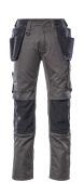 17631-442-1809 Pantalones con bolsillos tipo funda - antracita oscuro/negro