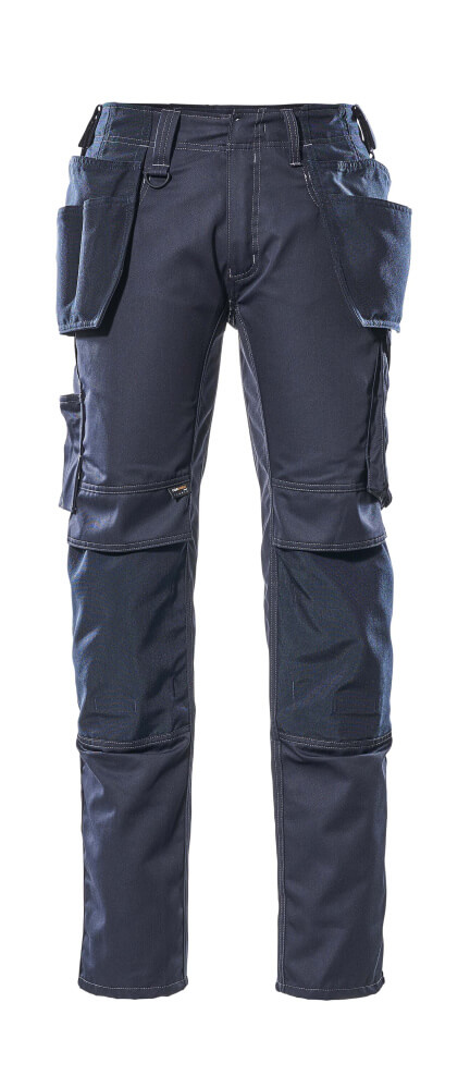 17731-442-010 Pantalones con bolsillos para rodilleras y bolsillos tipo funda - azul marino oscuro