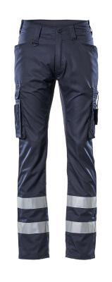 17879-230-010 Pantalones con bolsillos de muslo - azul marino oscuro