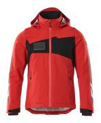 18035-249-20209 Chaqueta de invierno - rojo tráfico/negro