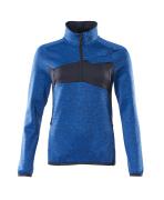 18053-316-91010 Jersey polar con media cremallera - azul celeste/azul marino oscuro