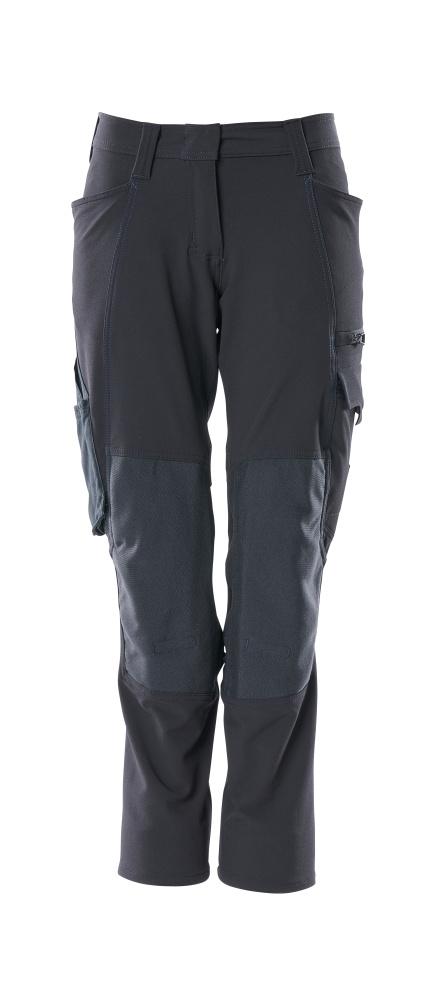18078-511-010 Pantalones con bolsillos para rodilleras - azul marino oscuro