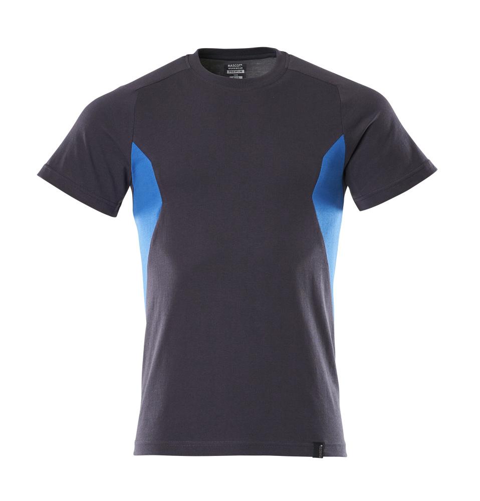 18082-250-01091 Camiseta - azul marino oscuro/azul celeste