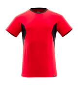 18082-250-20209 Camiseta - rojo tráfico/negro