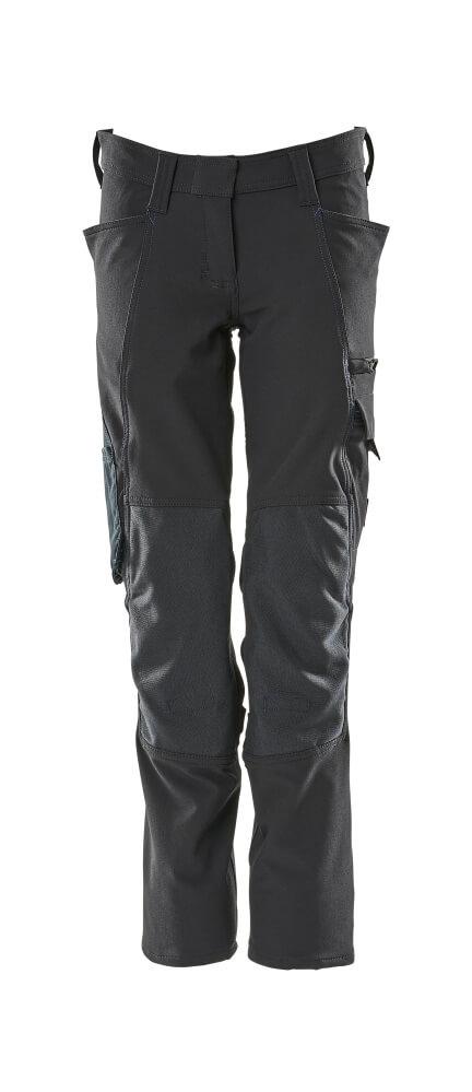 18088-511-010 Pantalones con bolsillos para rodilleras - azul marino oscuro