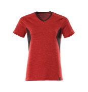 18092-801-20209 Camiseta - rojo tráfico-moteado/negro