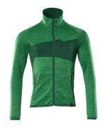 18103-316-33303 Jersey polar con cremallera - verde hierba/verde
