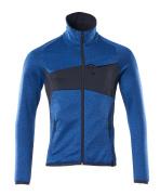 18103-316-91010 Jersey polar con cremallera - azul celeste/azul marino oscuro