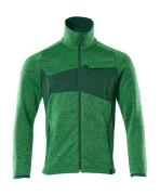 18105-951-33303 Jersey de punto con cremallera - verde hierba/verde