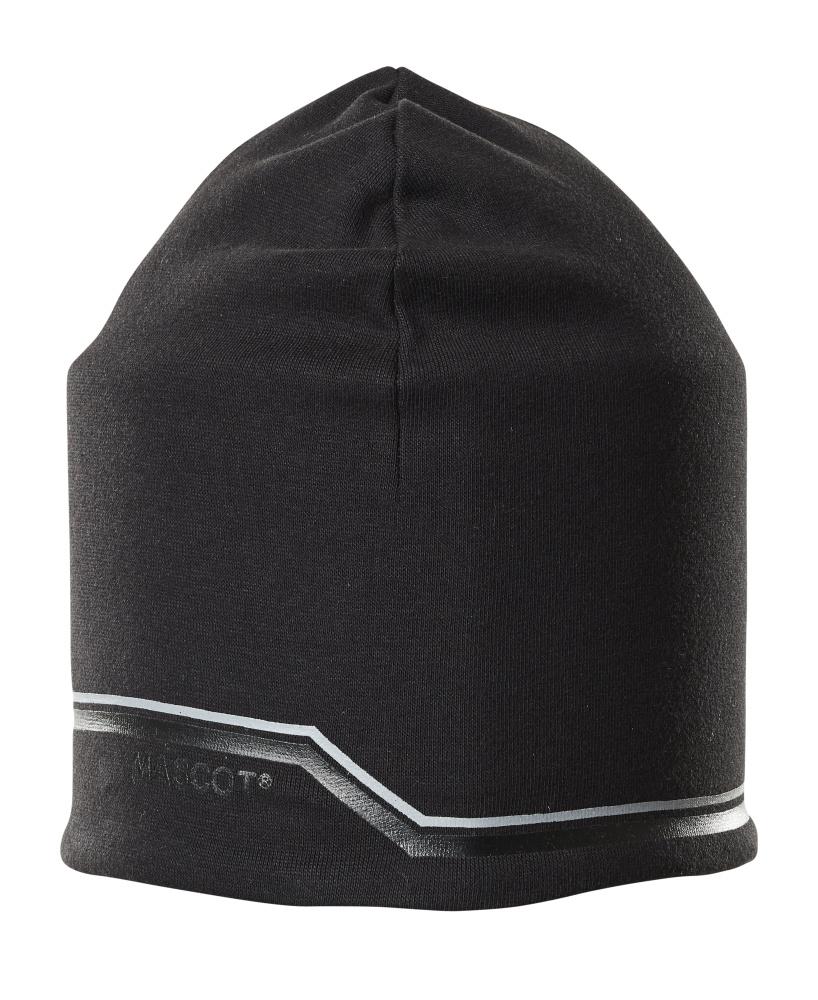 18150-807-09 Sombrero de punto - negro