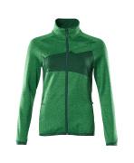 18153-316-33303 Jersey polar con cremallera - verde hierba/verde