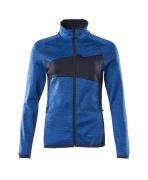 18153-316-91010 Jersey polar con cremallera - azul celeste/azul marino oscuro