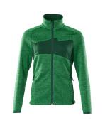 18155-951-33303 Jersey de punto con cremallera - verde hierba/verde