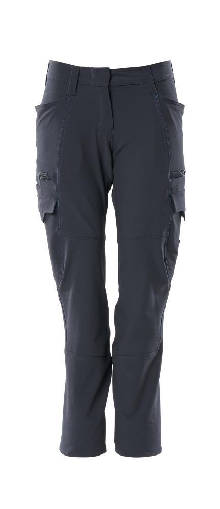 18178-511-010 Pantalones con bolsillos de muslo - azul marino oscuro