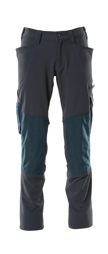 18179-511-010 Pantalones con bolsillos para rodilleras - azul marino oscuro