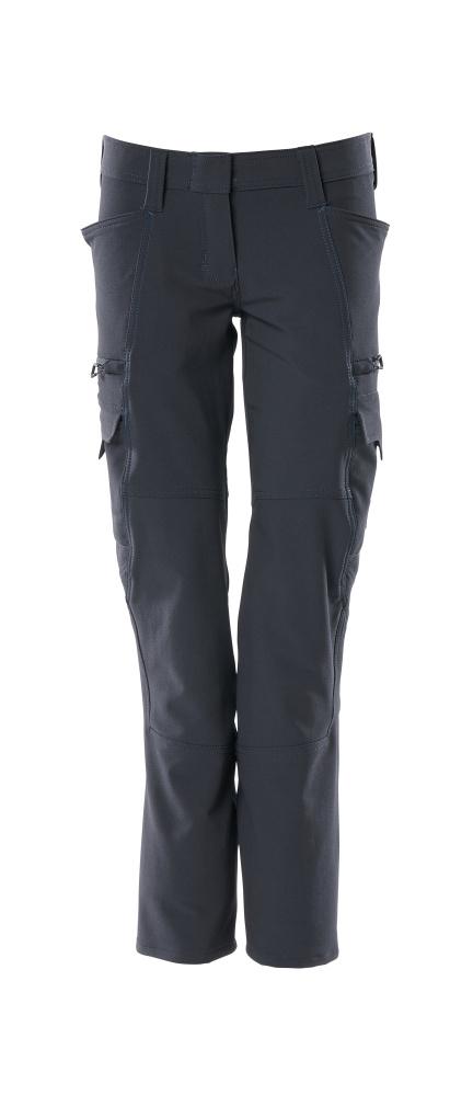 18188-511-010 Pantalones con bolsillos de muslo - azul marino oscuro