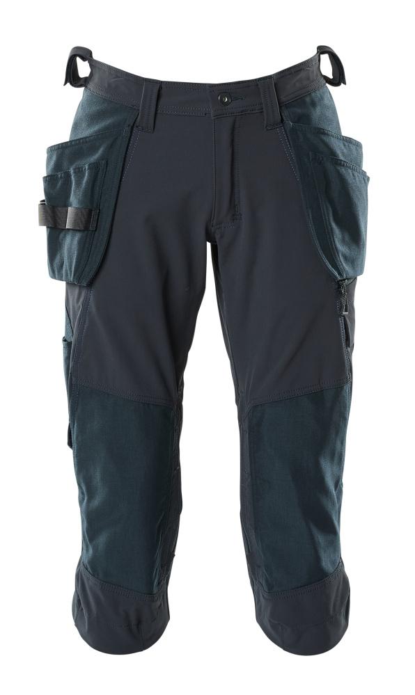 18249-311-010 Pantalones ¾, bolsillos tipo funda - azul marino oscuro