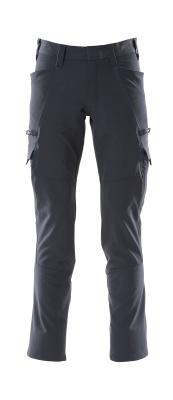 18279-511-010 Pantalones con bolsillos de muslo - azul marino oscuro