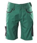 18349-230-0309 Pantalones cortos - verde/negro