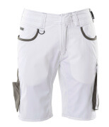 18349-230-0618 Pantalones cortos - blanco/antracita oscuro