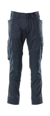 18379-230-010 Pantalones con bolsillos para rodilleras - azul marino oscuro
