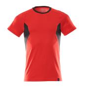 18382-959-20209 Camiseta - rojo tráfico/negro