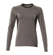 18391-959-01091 Camiseta, manga larga - azul marino oscuro/azul celeste