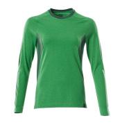 18391-959-33303 Camiseta, manga larga - verde hierba/verde