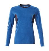 18391-959-91010 Camiseta, manga larga - azul celeste/azul marino oscuro