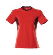 18392-959-20209 Camiseta - rojo tráfico/negro