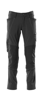 18479-311-010 Pantalones con bolsillos para rodilleras - azul marino oscuro