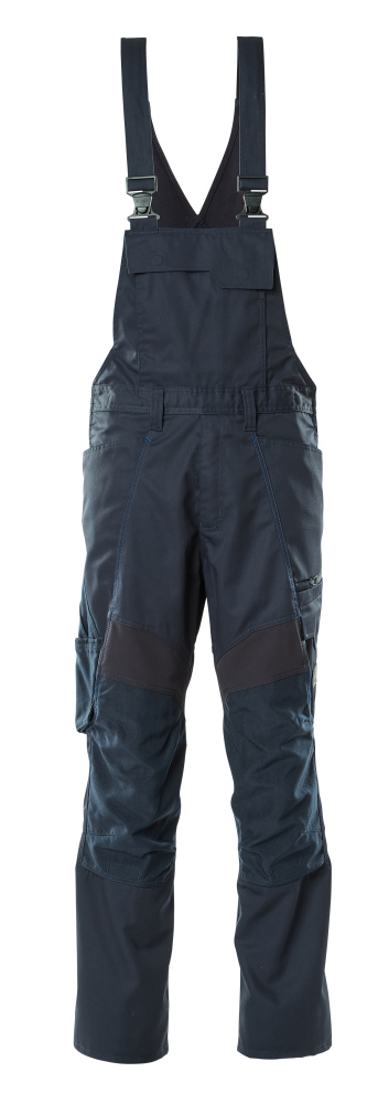 18569-442-010 Peto con bolsillos para rodilleras - azul marino oscuro
