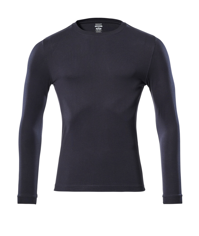 18581-965-010 Camiseta, manga larga - azul marino oscuro