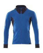 18584-962-91010 Sudadera con capucha con cremallera - azul celeste/azul marino oscuro