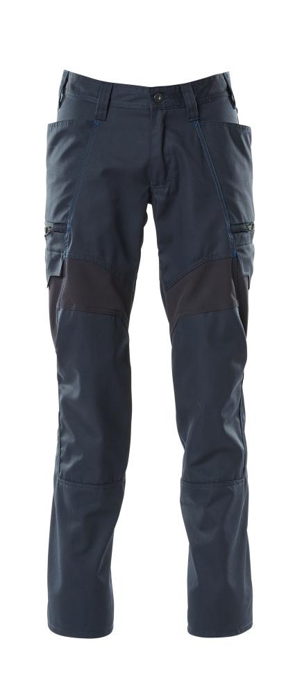 18679-442-010 Pantalones con bolsillos de muslo - azul marino oscuro