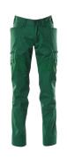 18679-442-03 Pantalones con bolsillos de muslo - verde