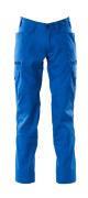 18679-442-91 Pantalones con bolsillos de muslo - azul celeste