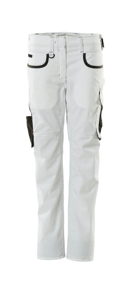 18688-230-0618 Pantalones - blanco/antracita oscuro