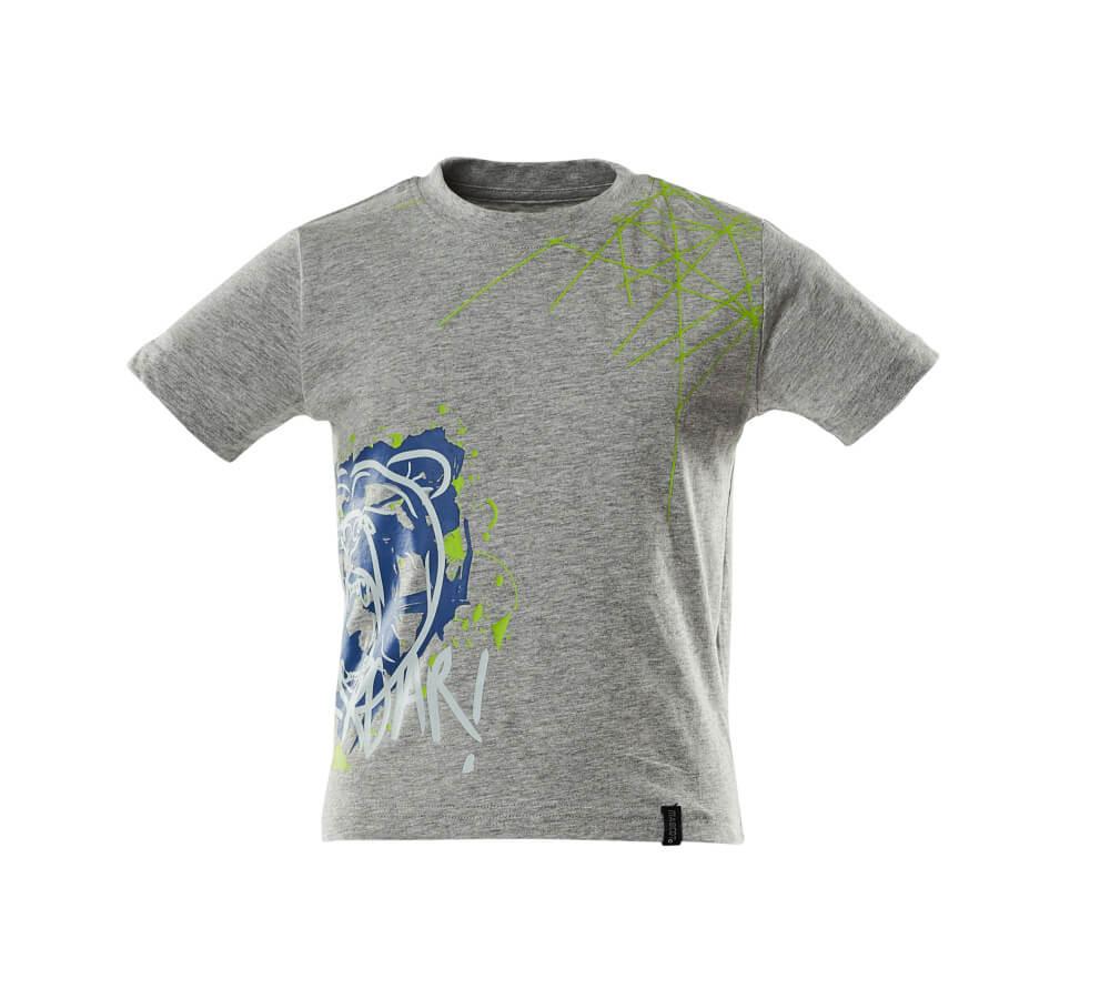 18982-965-08 Camisetas para niños - gris-moteado