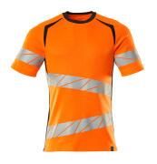 19082-771-14010 Camiseta - naranja de alta vis./azul marino oscuro
