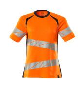 19092-771-14010 Camiseta - naranja de alta vis./azul marino oscuro