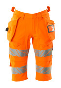 19349-711-14 Pantalones cortos, bolsillos tipo funda - naranja de alta vis.