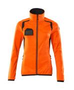 19453-316-14010 Jersey polar con cremallera - naranja de alta vis./azul marino oscuro