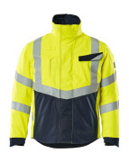19835-217-17010 Chaqueta de piloto - amarillo de alta vis./azul marino oscuro