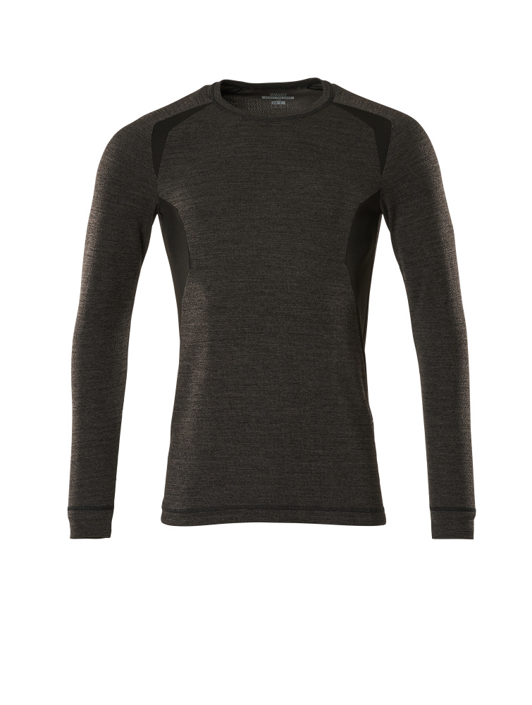 19881-794-1809 Camisa interior funcional - antracita oscuro/negro